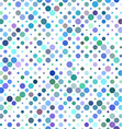 Colorful circle pattern design vector image vector image