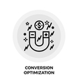 Conversion Optimization Line Icon
