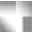 halftone dots black dots on white vector image vector image