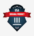 made in usa design vector image vector image