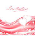 Wedding love holiday frame vector image vector image