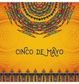 invitation for cinco de mayo festival vector image