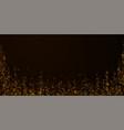 beautiful starry snow christmas overlay christmas vector image
