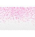 bright confetti festival background vector image vector image