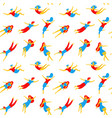 collection people flying dreaming seamless vector image vector image