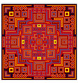 decorative geometric ethnic pattern ornament vector image vector image