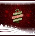 christmas pattern with a silhouette of santa claus vector image vector image