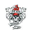 dead rockers vector image