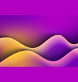 fluid colors background vector image vector image