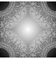 Four of the mandala parts at the corners with vector image