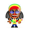 Jamaican guy vector image vector image
