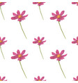 pink flower shape seamless pattern backgrounds vector image vector image
