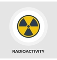 Radioactivity icon flat vector image