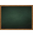 school chalkboard background vector image vector image