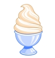 Sweet ice cream vector image