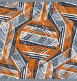 abstract seamless pattern for girls boys vector image vector image