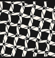 black and white seamless pattern diagonal ropes vector image vector image