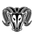 Bulls Head vector image vector image