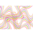 Colorful Wave Background vector image vector image