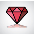 DiamondLogo vector image vector image