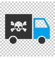 Toxic Transportation Car Eps Icon vector image vector image