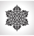 Floral Rounded Mandeala Pattern vector image