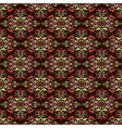Antique ottoman turkish pattern design fourty six vector image vector image