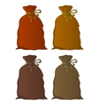 bag linen set vector image