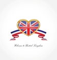 flag of United Kingdom vector image vector image