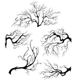Liquid branches vector image