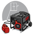 power generator vector image vector image