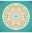 Round Ornament Background vector image