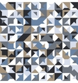 seamless geometric vintage pattern vector image vector image