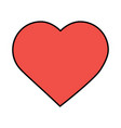 valentines day love heart romantic passion vector image