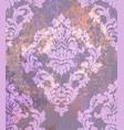 baroque pattern vintage ornamented texture vector image vector image