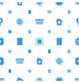 cpu icons pattern seamless white background vector image vector image