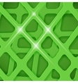 Crossed Lines Abstract Green Cover Background vector image