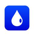 drop icon digital blue vector image