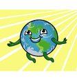 Earth Smiling vector image