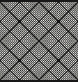 monochrome geometric seamless squares pattern vector image vector image