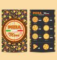 pizza11 vector image vector image