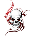 Skull Artistic vector image vector image