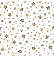 starry sky seamless pattern hand drawn vector image