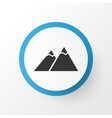 the mountains icon symbol premium quality vector image