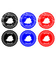 vatican rubber stamp vector image vector image