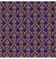 Seamless Damask Wallpaper 1 Purple Color vector image