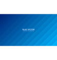 3d minimalist deep blue abstract background side vector image