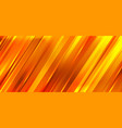 abstract orange and yellow gradient diagonal vector image vector image