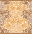 lace seamless pattern with circle details vector image vector image
