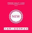 new offer icon graphic elements for your design vector image